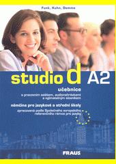 Obal knihy Studio d A2 - učebnica + CD CZ