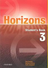 Obal knihy Horizons 3 EN