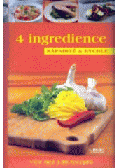 Obal knihy 4 ingredience CZ