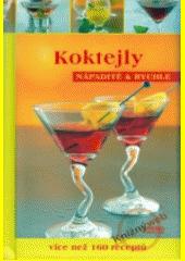 Obal knihy Koktejly CZ