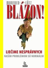 Obal knihy Blázon!