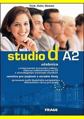 Obal knihy Studio d A2 - Nemčina pre jazykové a stredné školy DE