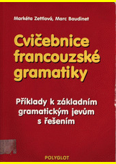 Obal knihy Cvičebnice francouzské gramatiky FR