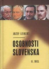 Obal knihy Osobnosti Slovenska - 2. diel