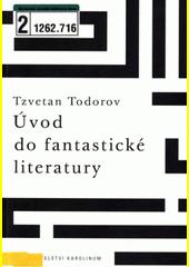 Obal knihy Úvod do fantastické literatury CZ