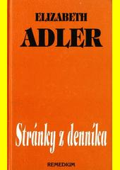 Obal knihy Stránky z denníka